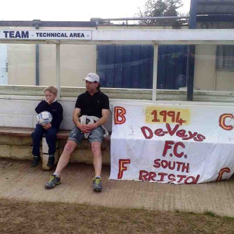My day at Yate town f.c day b4 cup final