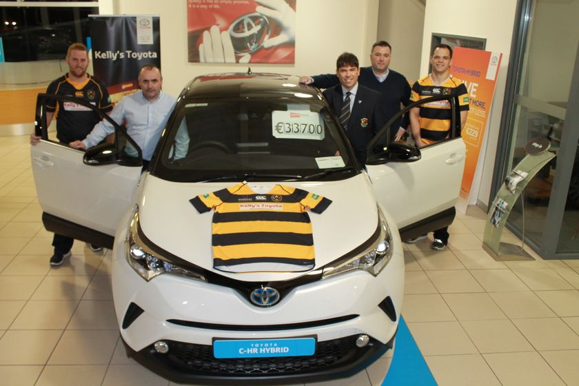 Kelly's Toyota continue to keep Letterkenny RFC on track ahead of Gordon West Cup opener