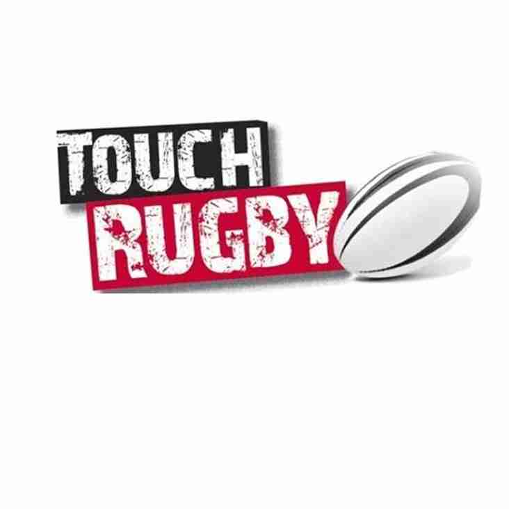 Mixed Touch Rugby starts Tues 22 May