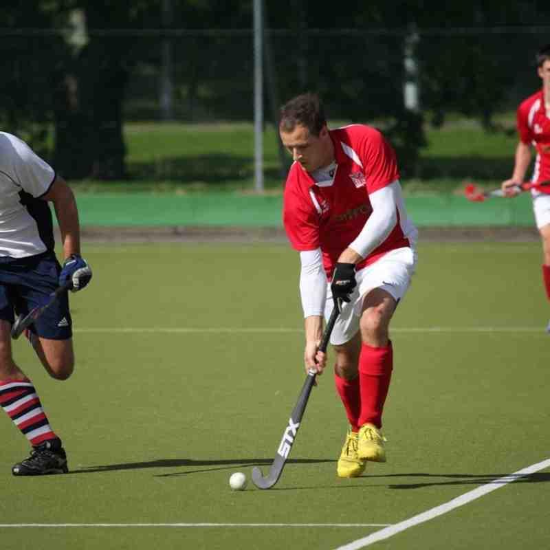 Mens 1st XI at Hampshire Cup 19th September 2015