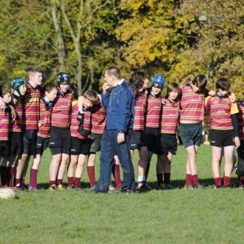 Under 13's rugby