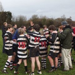 U13's v Gordano 4th March 2012