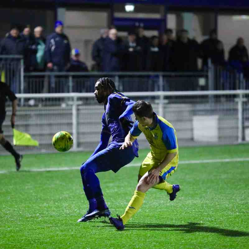 Romford FC v Hullbridge Sports FC - 27.01.2020