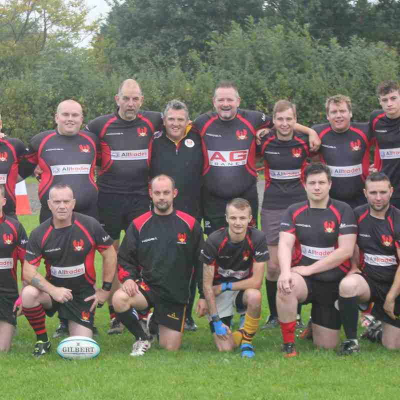 2nd XV team against AEI Rugby