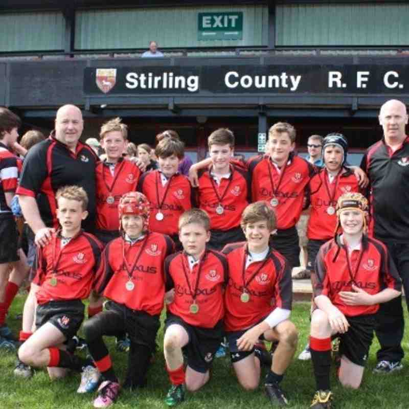 S1's Silver Medals at Stirling 7's Tournament