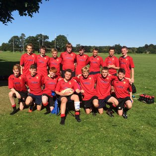 U15 Win 1st Game of League against Perthshire