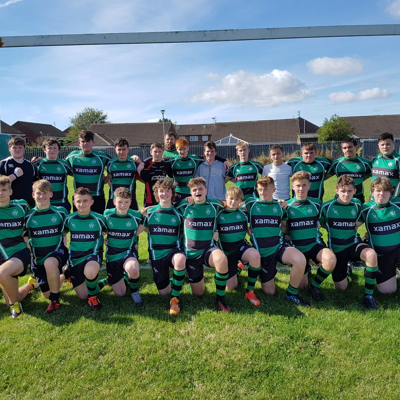 Under 16s lose to Morpeth RFC