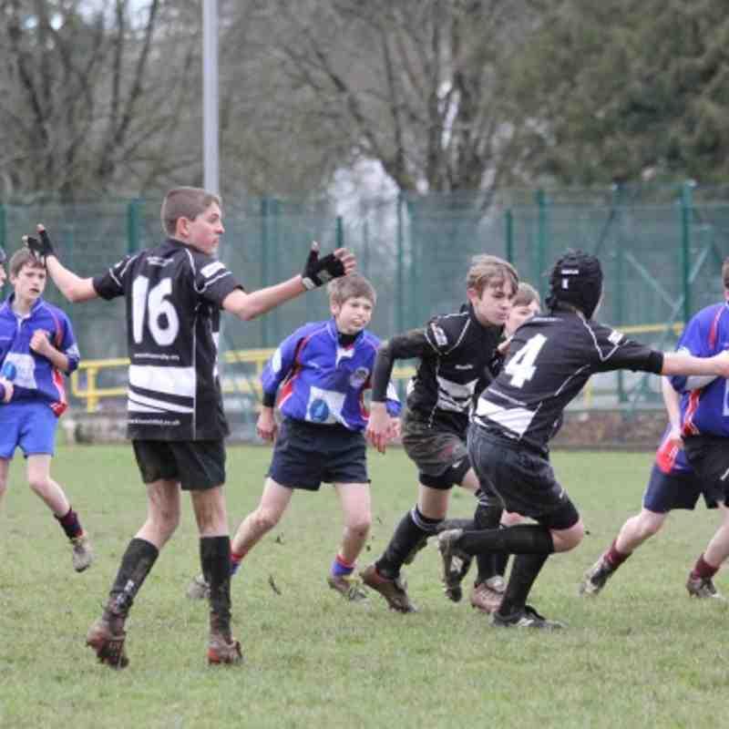 U13's Brixham v Totnes