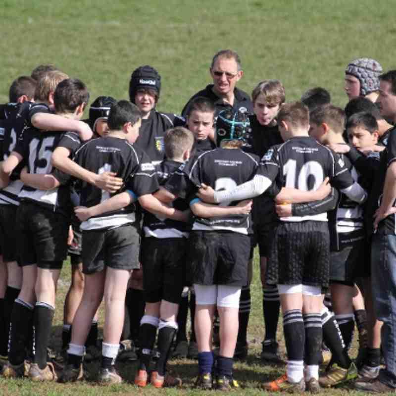 U13's v Sidmouth Devon cup