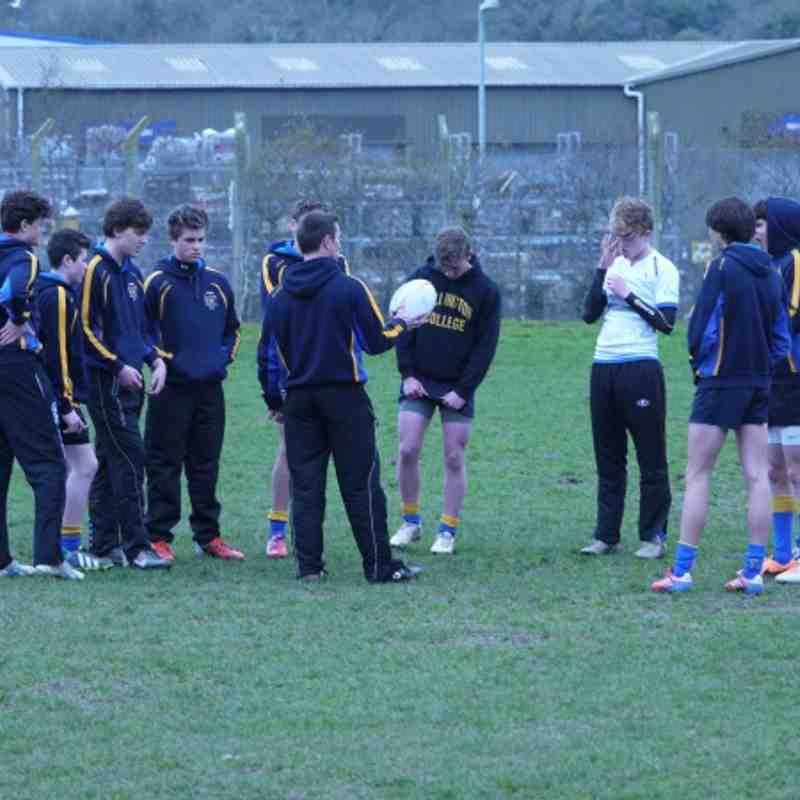 Truro U15's vs St Ives (County Cup Final - March 2014)