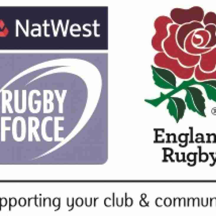 Natwest Rugby Force - This weekend