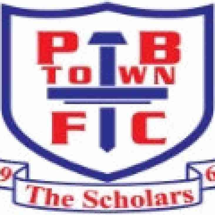 Tonight's match against Potters Bar is off.