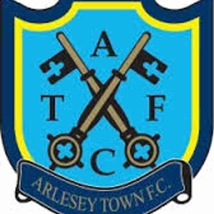 Next up - Arlesey away on Saturday