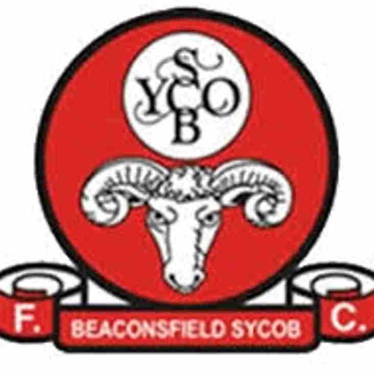 Next up - Beaconsfield away on Saturday.