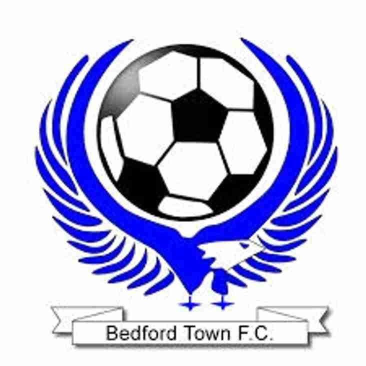 Next up - Bedford Town home on Saturday