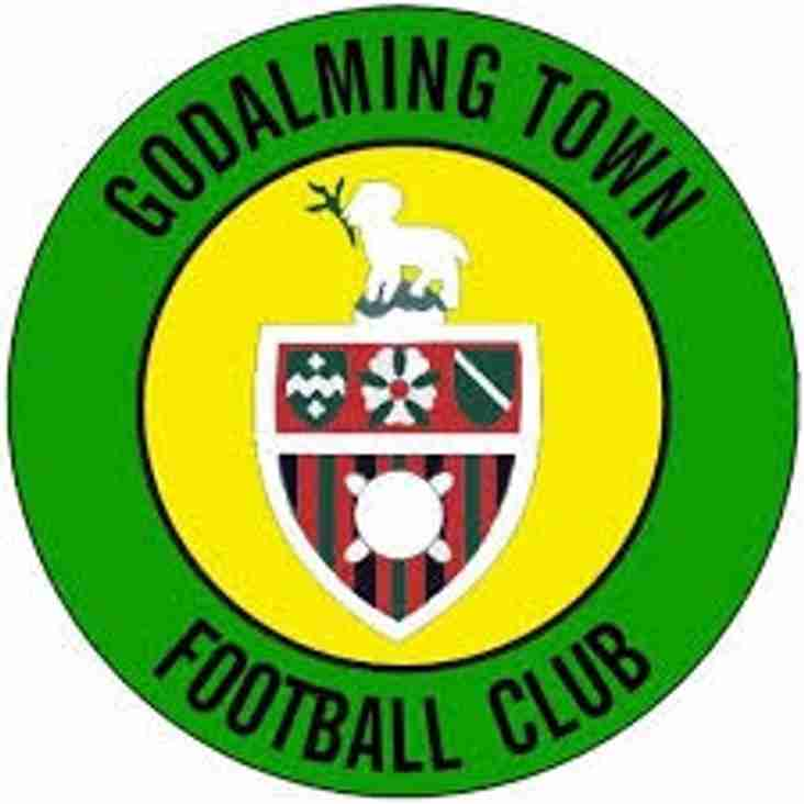 Next up - Godalming away on Saturday.
