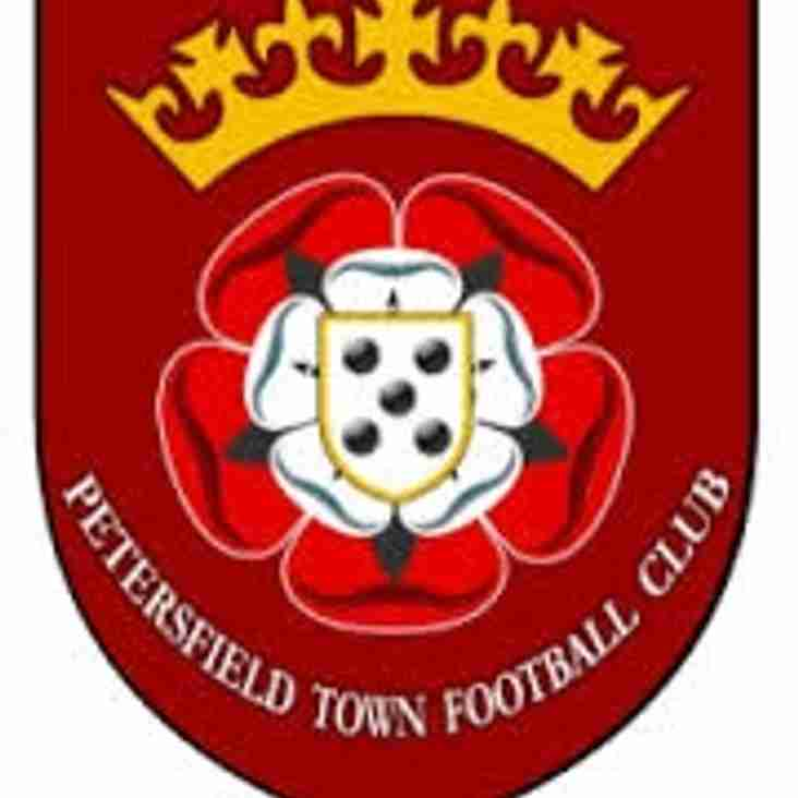 Next up - Petersfield home on Saturday