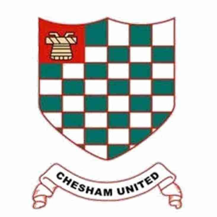 Chesham friendly match is off.