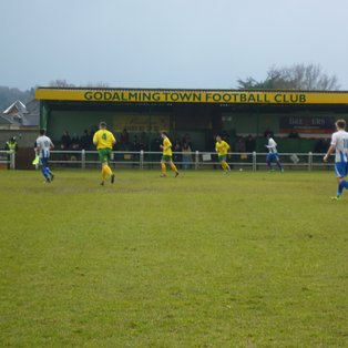 Godalming Town 0 Ware 1