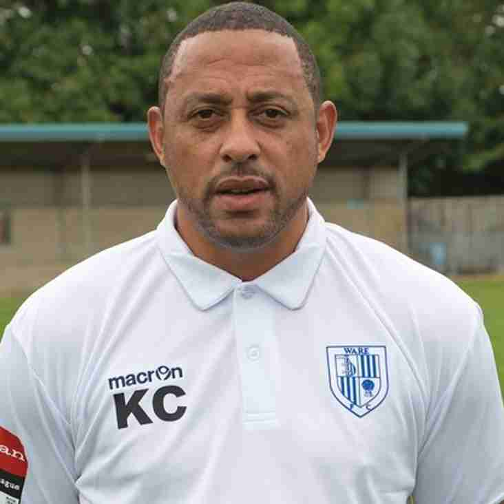 Charlery back in management with London Colney
