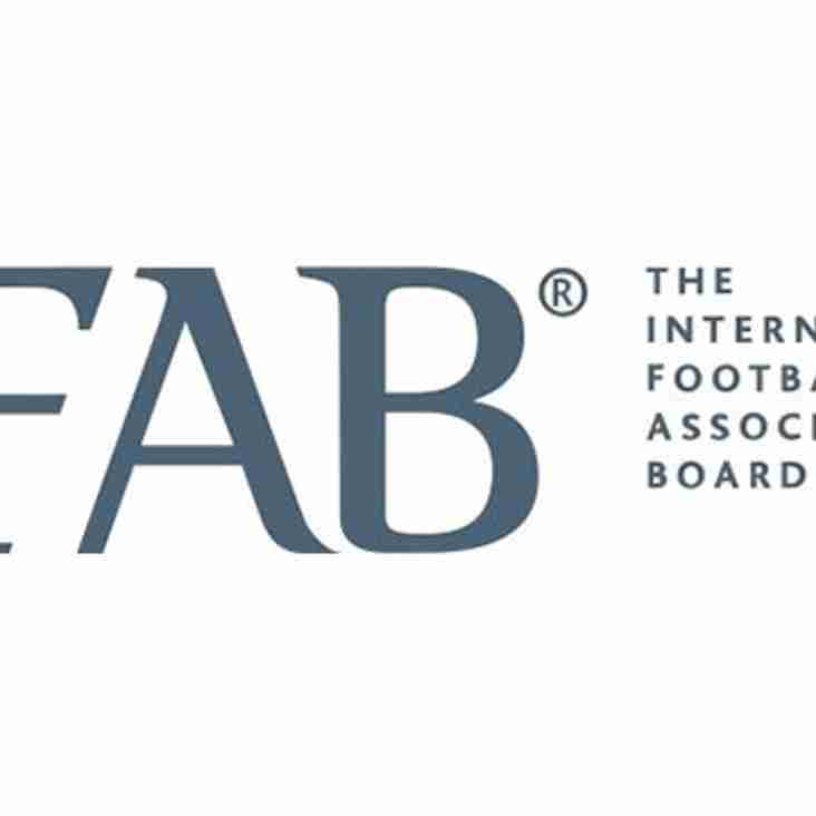 IFAB's Play Fair strategy for 2017 - 2022.