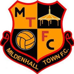 Ware 1 Mildenhall Town 1