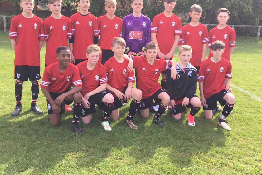 Under 14 Pumas lose to Cranfield Colts 2 - 5