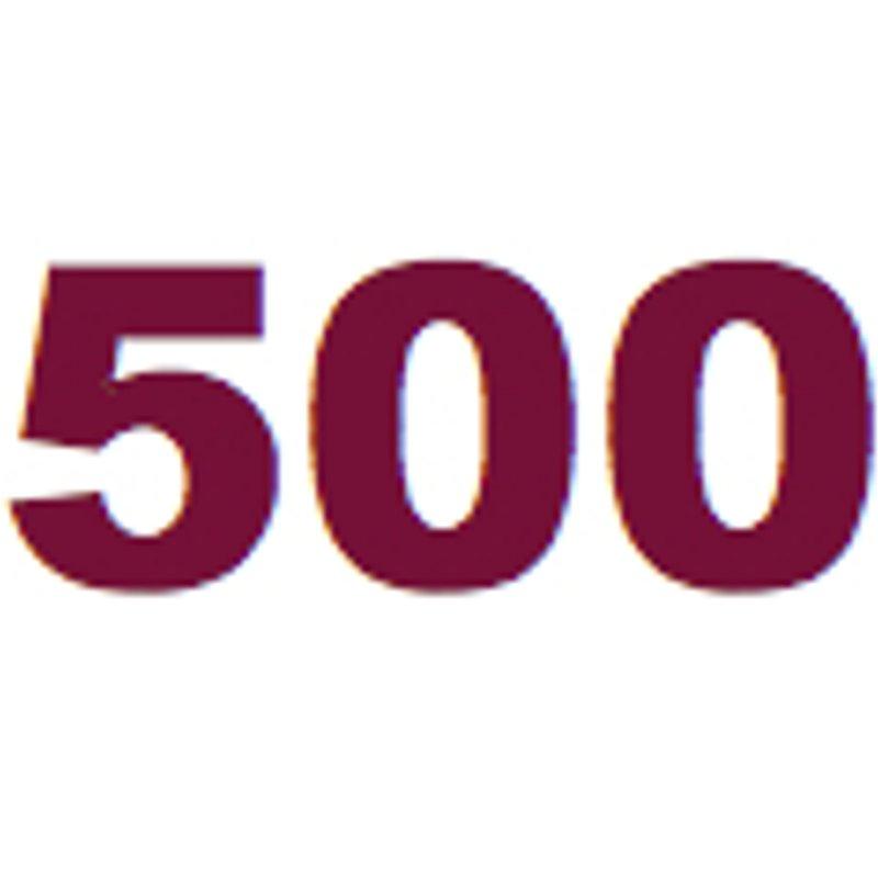 500 Club Update