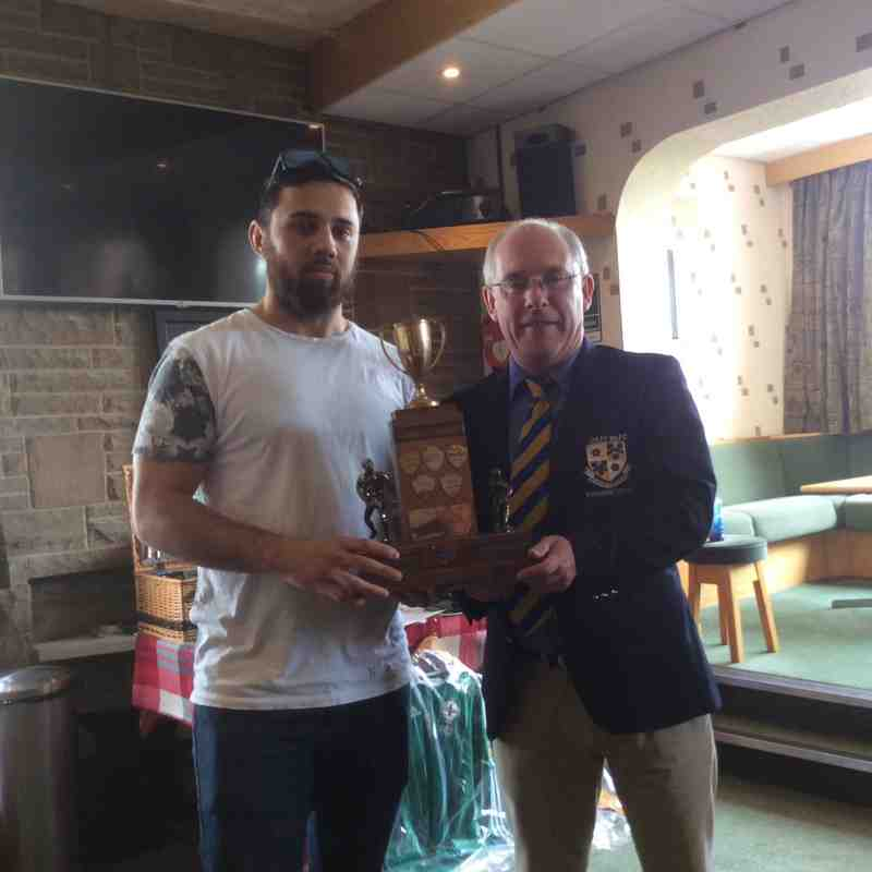 1xv top try scorer Adam Wallis