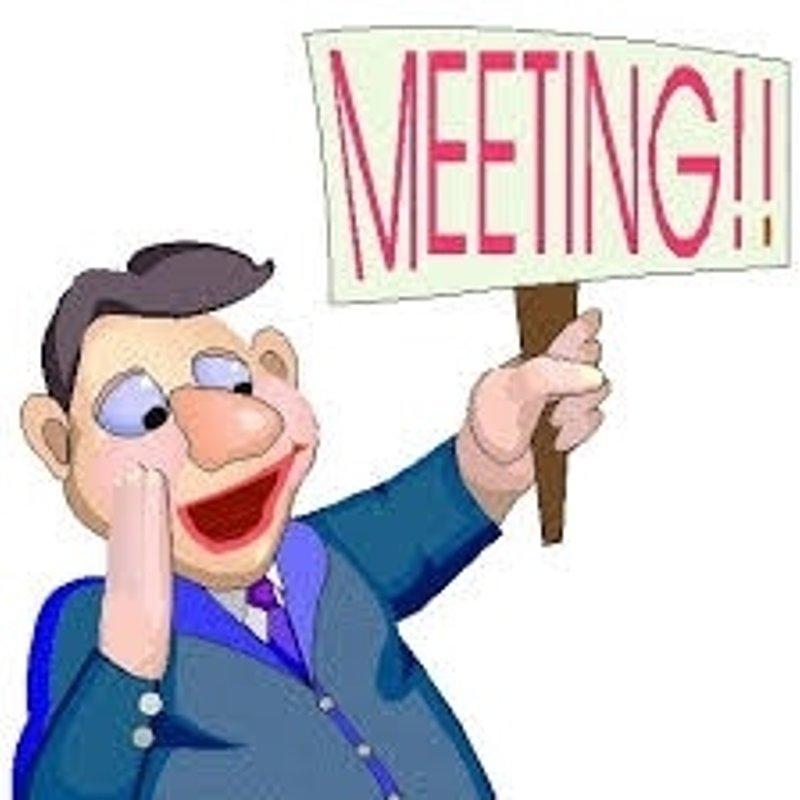 Senior committee meeting