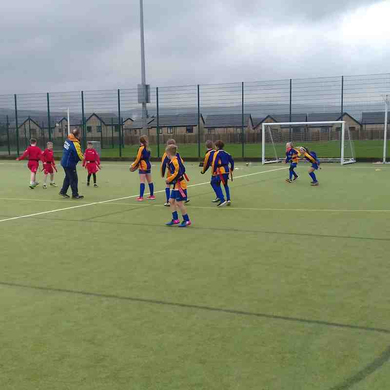 Burnley Primary schools v Pendle schools tag event
