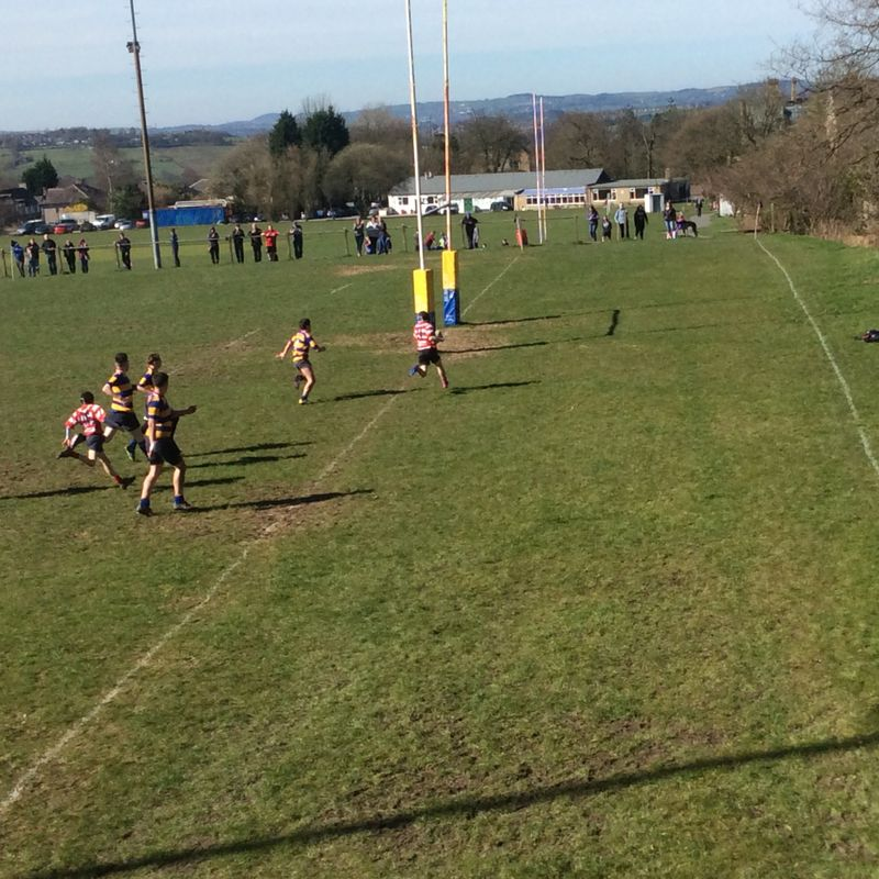 U14s v Vale of Lune