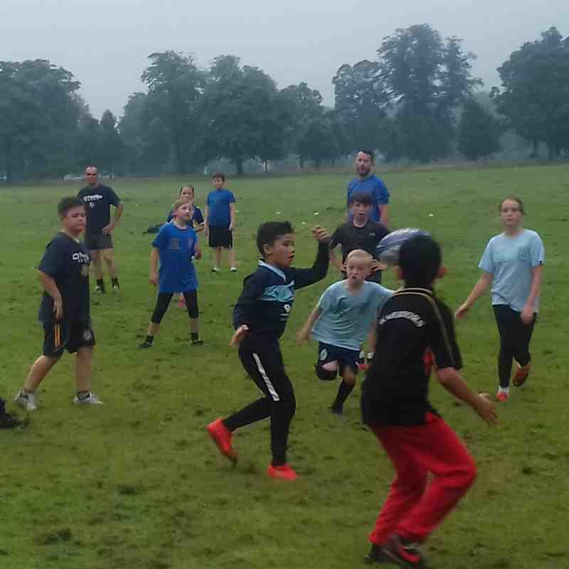 Junior rugby back!