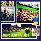 Burnley ladies 32 Leigh 20