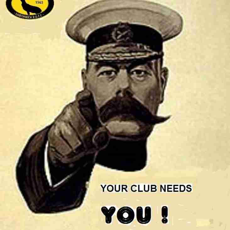 We need YOU, 6th July at Northwich Carnival