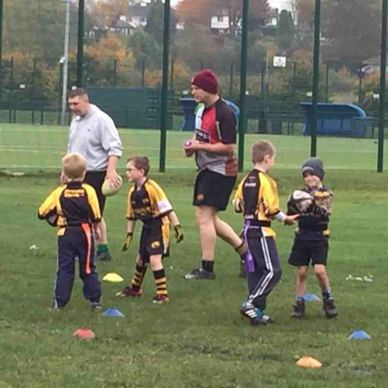 Northwich U7 v Training - Sun 30 Oct 2016