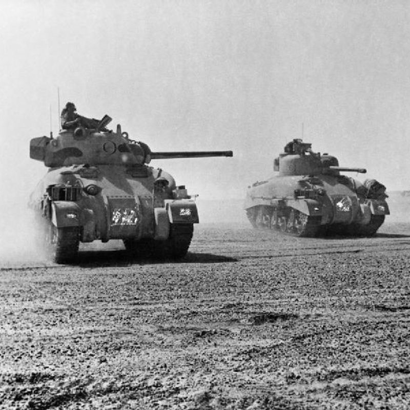 Sherman & Panzer ??