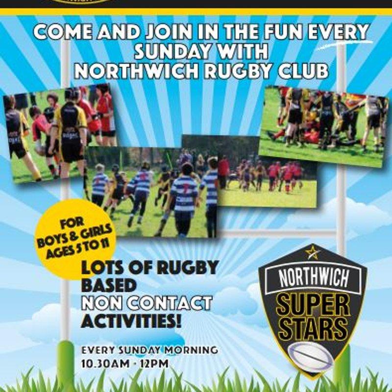 Northwich Superstars starts this SUNDAY