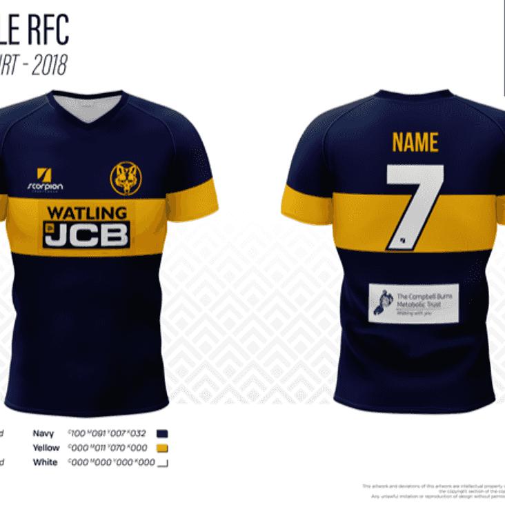 U10 shirt sponsor