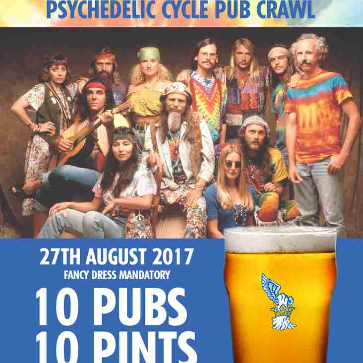 Psychedelic Cycle Pub Crawl - 27th August