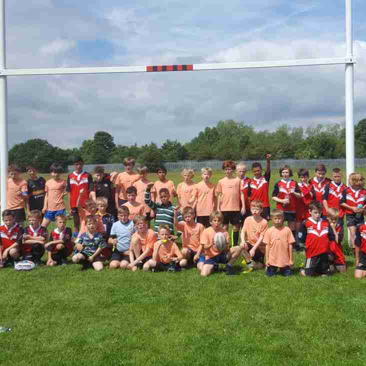 Warriors host the Eagles for Primary Rugby League Training Day