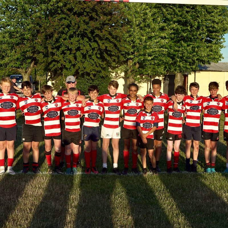 Under 13s lose to Hemel Stags 50 - 8