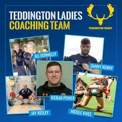 Teddington ladies welcome a new coaching team for the season.