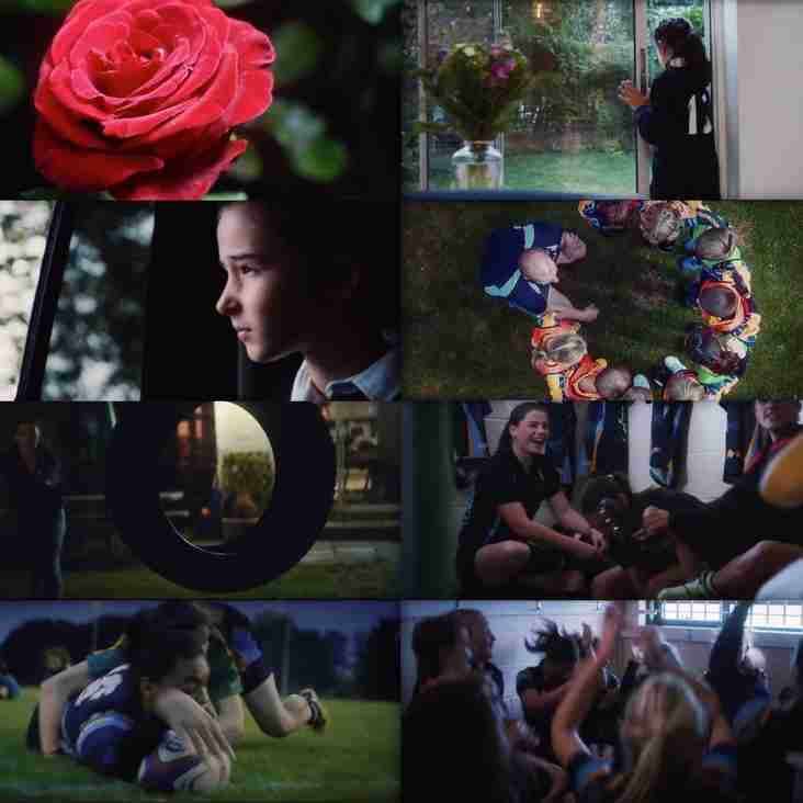 Teddington women and girls feature strongly in England Rugby's video