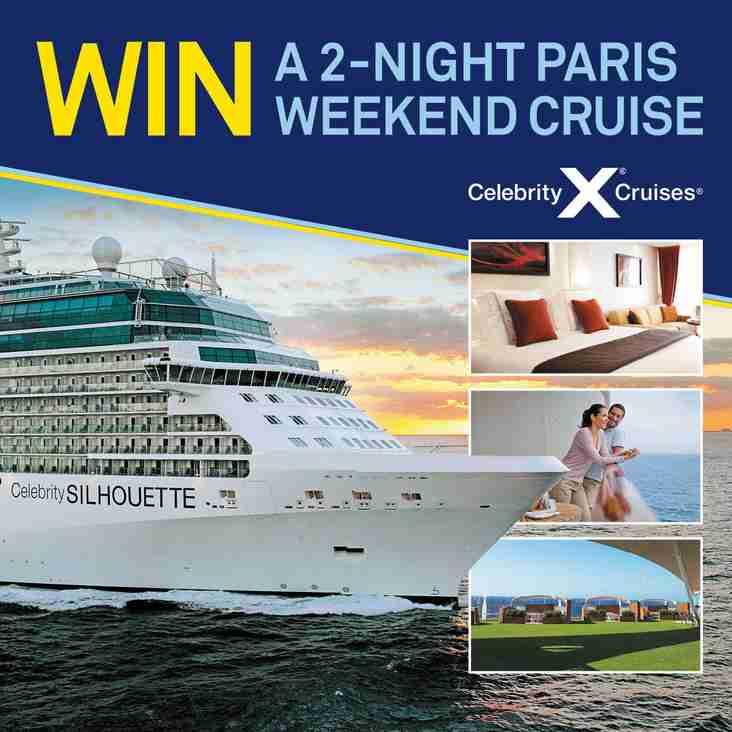 WIN - A 2-night getaway cruise to Paris!