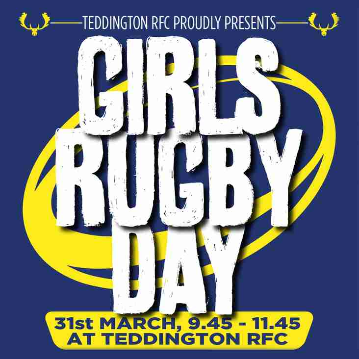 Girls Rugby Day, March 31st