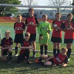 Thame Boys u13s Risborough Rangers JFC Winners 2016