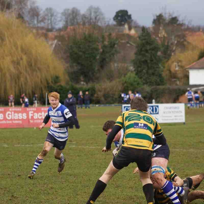 The Blues v Bugbrooke Feb 2015