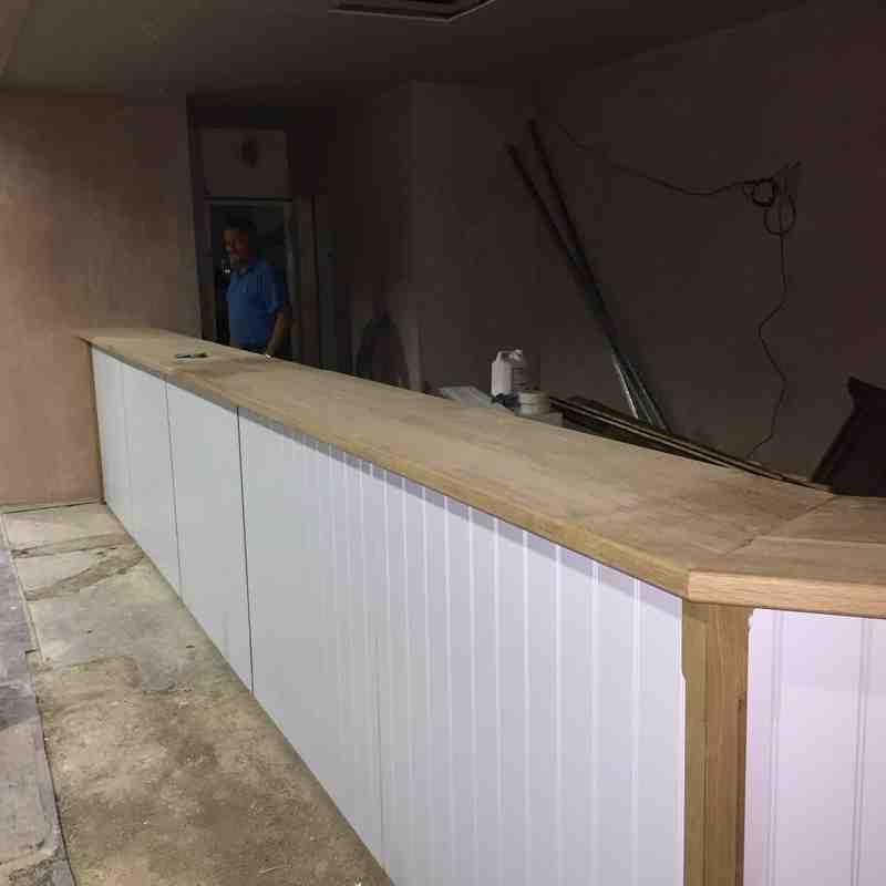 Bar Refurbishment - June 2015