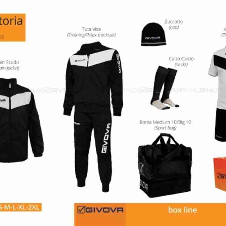 First Team Tracksuits and Training Kit